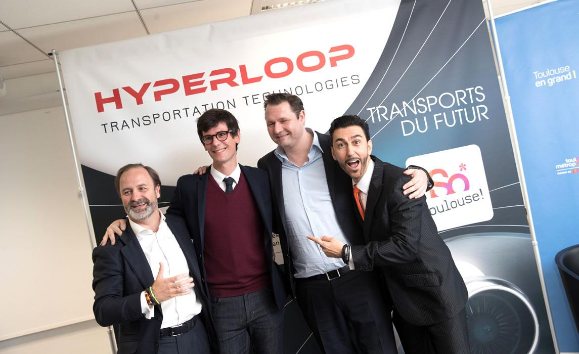 Implantation de Hyperloop à Toulouse
