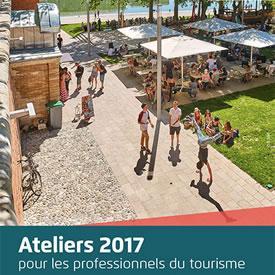 Ateliers 2017 pour le tourisme
