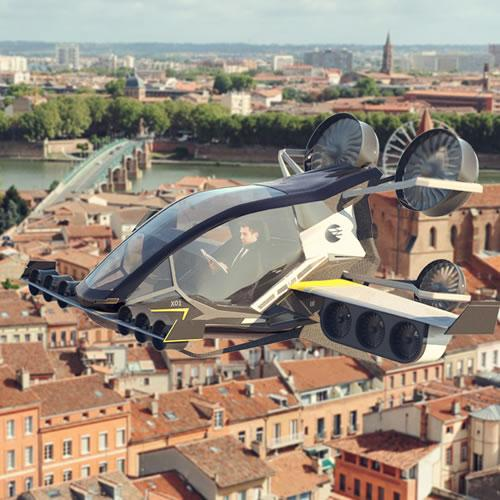 EVA - voiture volante - Toulouse