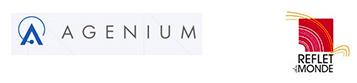 logos AGENIUM - REFLETS DU MONDE