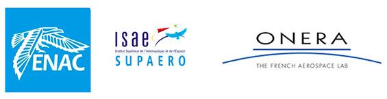 logos ENAC - ISAE SUPAERO - ONERA